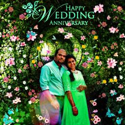 weddinganniversary first freetoedit