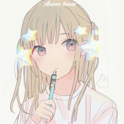 anime art girl chan ava