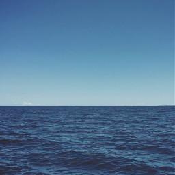 blueworld nature oceanside seawater horizon freetoedit