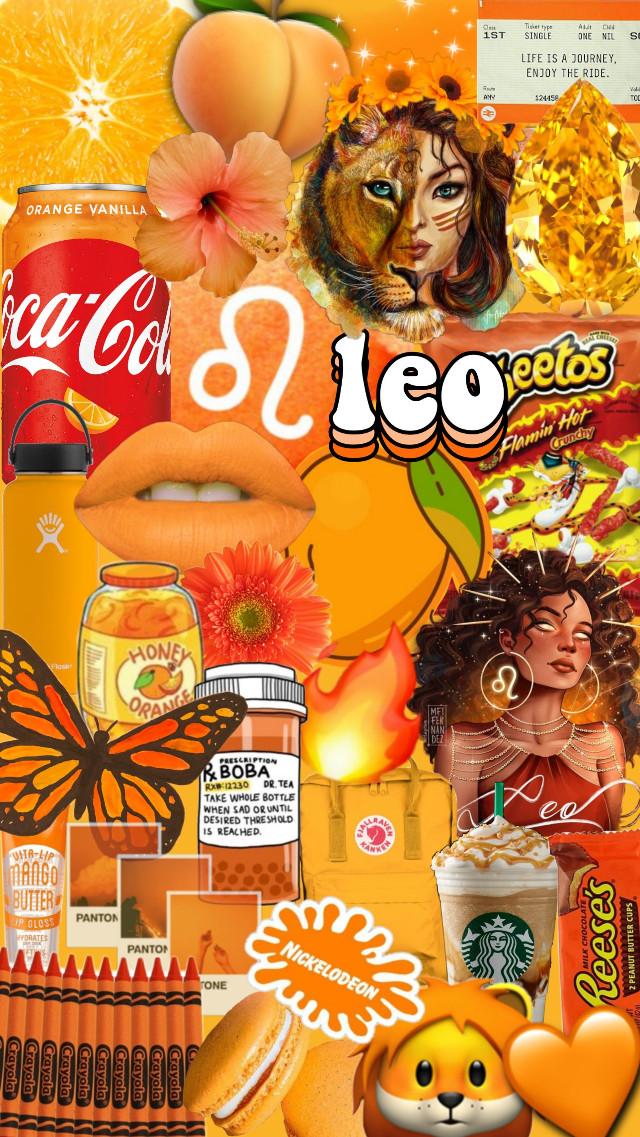 #freetoedit #leo #leoseason #astrology #zodiac #horoscope #starsign #wallpaper #background #iphone #lockscreen #homescreen #aesthetic #collage #tumblr