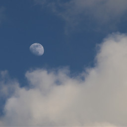 skyandclouds moon freetoedit