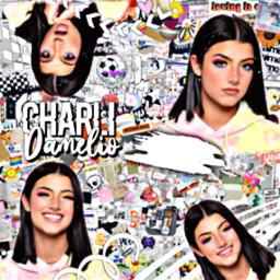 charli charlidamelio renegade colorful complex freetoedit