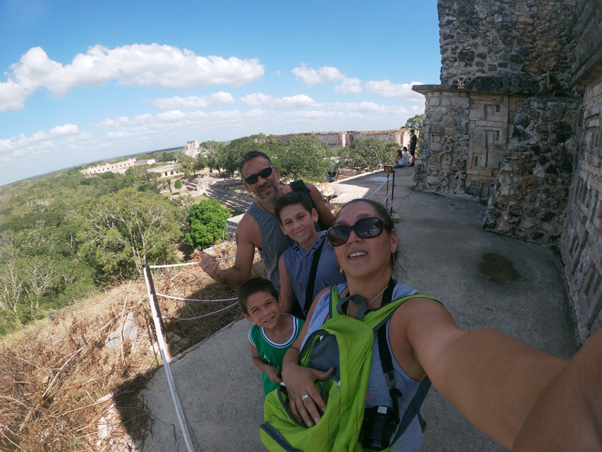 #vacaciones ##uxmal #photography #travel #familia❤