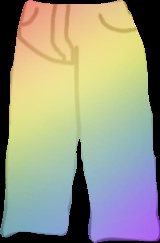 #gachalife #gachalifepants #pants #rainbowpants #gachaliferainbowpants #freetoedit