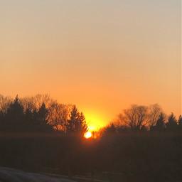 sun sunset nofilter sky spring