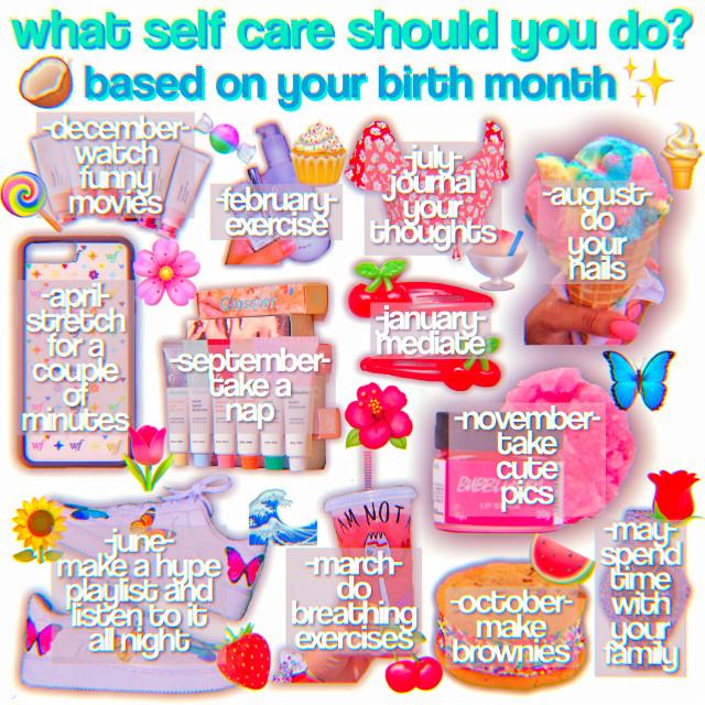 "𝐎𝐏𝐄𝐍  💫✨☀️🌈🌙⚡️     𝐋𝐈𝐅𝐄 𝐓𝐇𝐈𝐍𝐆𝐒♡︎     𝐃𝐚𝐭𝐞:: april 6th 2020      𝐓𝐢𝗺𝐞:: 10:21 pm est     𝐌𝗼𝗼𝐝:: tired 🌷🌹🌺🌸🌼🌻     𝐍𝐈𝐂𝐇𝐄 𝐓𝐇𝐈𝐍𝐆𝐒♡︎     𝐓𝐢𝐭𝐥𝐞:: what self care should you do?     𝐅𝐜:: 545     𝐂𝐫𝐞𝐝𝐬:: @dancingayla on Pinterest      𝐅𝐢𝐥𝐭𝐞𝐫 𝐂𝐫𝐞𝐝𝐬: @hugniche 🌲🌴🍀🌿🌱🍃      𝐂𝐀𝐏𝐓𝐈𝐎𝐍♡︎      it's my moms bday lol 🎂🍭🍡🍰🧁🍧      𝐑𝐀𝐍𝐃𝐎𝐌𝐍𝐄𝐒𝐒♡︎      𝐒𝗼𝐭𝐝:: silence       𝐀𝐫𝐭𝐢𝐬𝐭:: marshmello 💧💦🌊❄️🌧☁️      𝐓𝐀𝐆 𝐋𝐈𝐒𝐓♡︎      🦋@huneymilk      🕊@another_disney_girl      🌺@tom_spidey_holland      🌸@awhdoja      🌷@_j_a_e_l_y_n_n_      🌹@bxttercxp-      💐@almcnd-      🐚@glossycherry-      🌼@hqneymoonavanue      🌻@iamchezstrings      🥀@bubblyniches      ⭐️@23jordan24      ✨@awhmoon      ⚡️@chillxniche      ☁️@cottoncandydream      🌊@maryann_08      💦@beachyboca      🍉@adoregloss      🍓@httpsugarniche      🍒@g9dess      🍇@glxssykisses      🥭@bxxterfly      🥝@mikaylaspark      🍑@scftmulti      🍒@tiktokbois_      🍌@tiktokteea      🥞@boyfandom      🧇@frappe_niche      🍡@aesthetic-help      🍧@americanboys_      🍨@glossyboca      🥧@thateditingirl      🧁@honestlygucci      🍰@peachynasa      🍭@raewsueshii_outlines      🍿@imxgine-outline      🍩@outlinesxbffs      🍯@hxneyniche      🎟@adorablychambie      🩰@tropicalniche      🎨@cherryniche      💎@lovelyxniche      🔮@luvemmaa      🧸@itsjustsarahhere      🛍@adoreniche      🎀@jade_sky      🎊@cloudyniche      🎁@islandboca      🎈@vogueniche      🎉@sisterteaspill      ❤️@awhemma      💖@awhkisses-      🍋@softienichie      🥥@vanillaniche      🎂@fancybutera      🍬@hqneyboca      🍪@hugniche      🧚@shevi333      💃@chqrlidamelio      👛@liv_k5      🌟@sxturnii        comment ""🤞"" to join       comment ""✌️"" to leave  🎀🎈🎊🛍🎁🎉       𝐇𝐀𝐒𝐇𝐓𝐀𝐆𝐒♡︎       #niche #nichememe #emoji        #nqhce #tiktok #hype #house       #hypehouse #egirl #lyrics #emo        #lyrics #sad #saddest #depressed        #class #school #classclown #clown        #thisorthat #pink #artist #artists        #songs #softgirl #nike #teen        #teenager #glow #makeup #selfcare            #care #skincare"