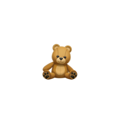 freetoedit teddybear bear emoji bearemoji