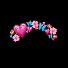 emoji iphone hearts butterfly blume freetoedit