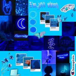 blue aesthetic aestheicblue freetoedit