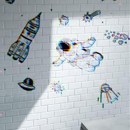freetoedit remix space cute whitewall