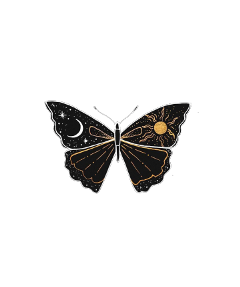 cosmos night butterfly aesthetic vintage freetoedit