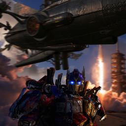 robot optimusprime transformers galaxy soace
