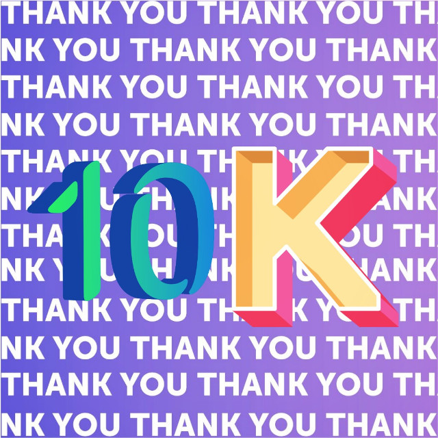 """#freetoedit  10K Followers!!!!!!!!!! Epic!!!!!Can't express how much happy I am today 😊 Thank you each one of you ❤️❣️💕 God bless you all 😇 Grateful and Overwhelmed. 🥰 At last dreams do come true ✌️🤩 Thank you so very much guys 🤗🙂 And yes Thanks a lot PicsArt @picsart  for considering me as an Artist and fulfiling my wildest dream. 😃 ❤️ u all Really """"This place is happiness""""😊"""
