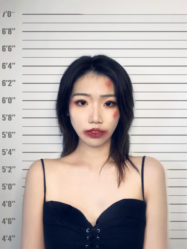 #mugshot #freetoedit #makeup
