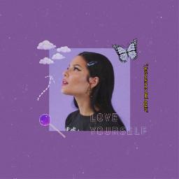 freetoedit halsey purple aesthetic vintage
