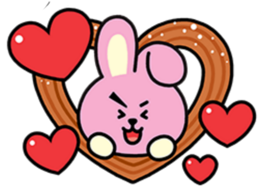 #cooky #bt21 #love #heart #cookie