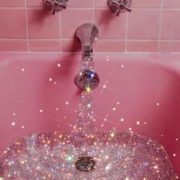 pink glitter 90saesthetic aesthetic freetoedit