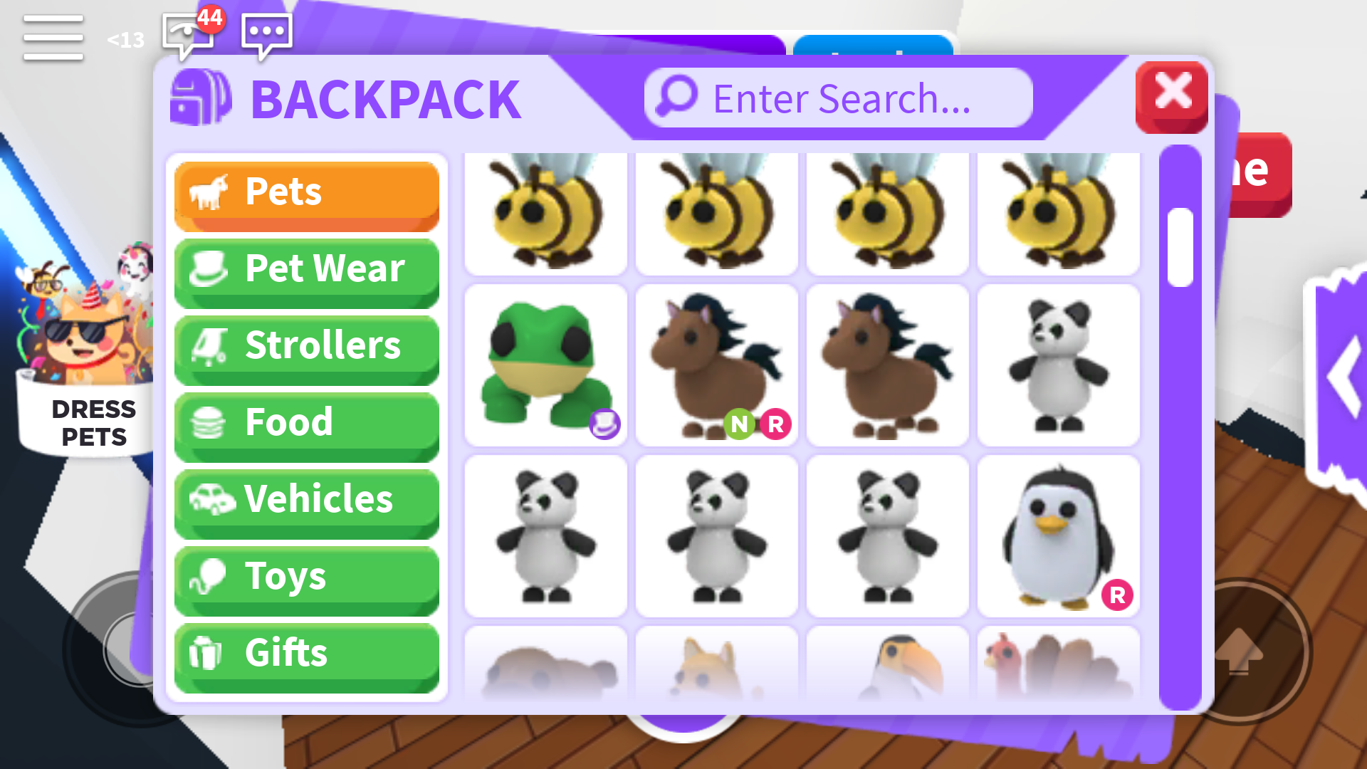 My Adopt Me Inventory Roblox Image By Online