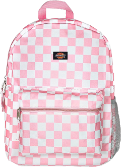 dickies backpack pink white checkered freetoedit