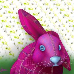 freetoedit easter rabbit bunny toy