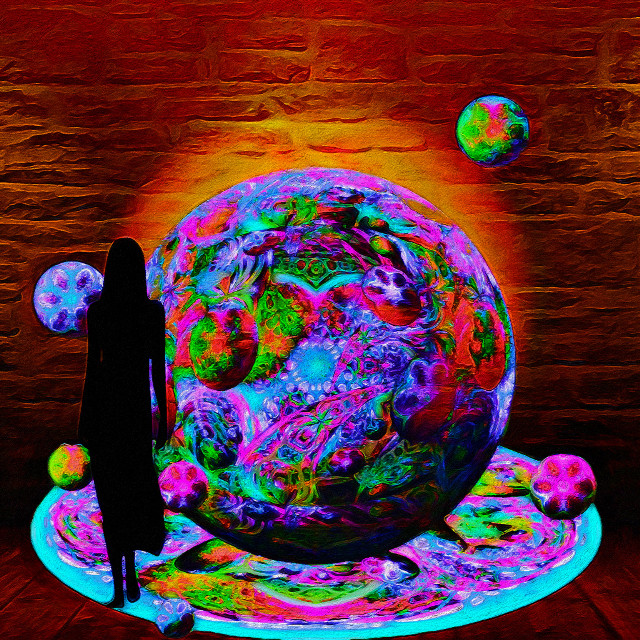 Out for Tea                                                                    #remix #multilayered #colorchange #digitalpainting #stickerremix #myedit  #freetoedit