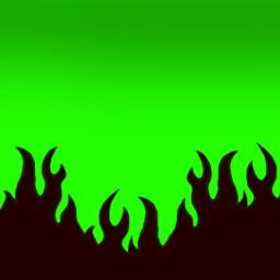 fire green neon black skate school freetoedit eczoombackgrounds zoombackgrounds