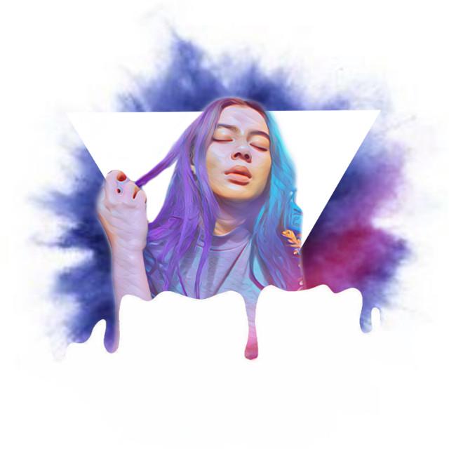 #freetoedit #purple #aesthetic #smoke #geometry #triangle #pastel #magiceffects #magic
