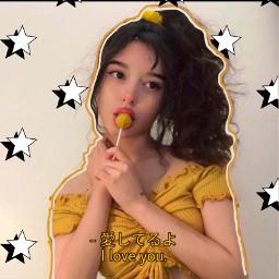 freetoedit yellow theme yummy lollipop