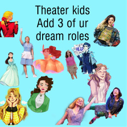 dreamroles musicals hamilton heathers bemorechill freetoedit