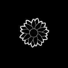flower sunflower black white outline freetoedit