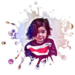 freetoedit paintsplatter babylove