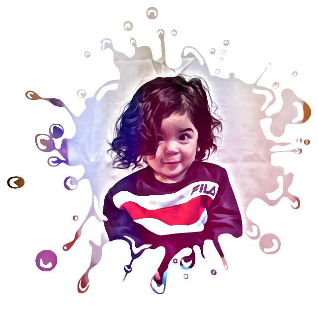 #freetoedit #paintsplatter #babylove