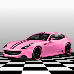 freetoedit car cars pink sportscar