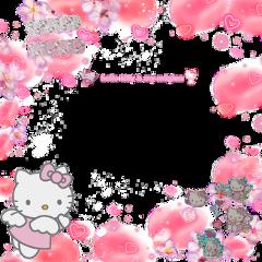hellokitty фон kawaii anime freetoedit