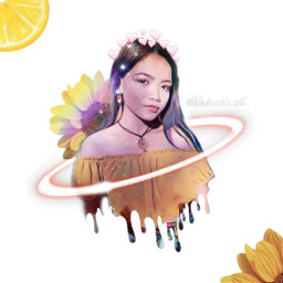 myquarantineeffect galaxy neonrings heartscrown lemon freetoedit