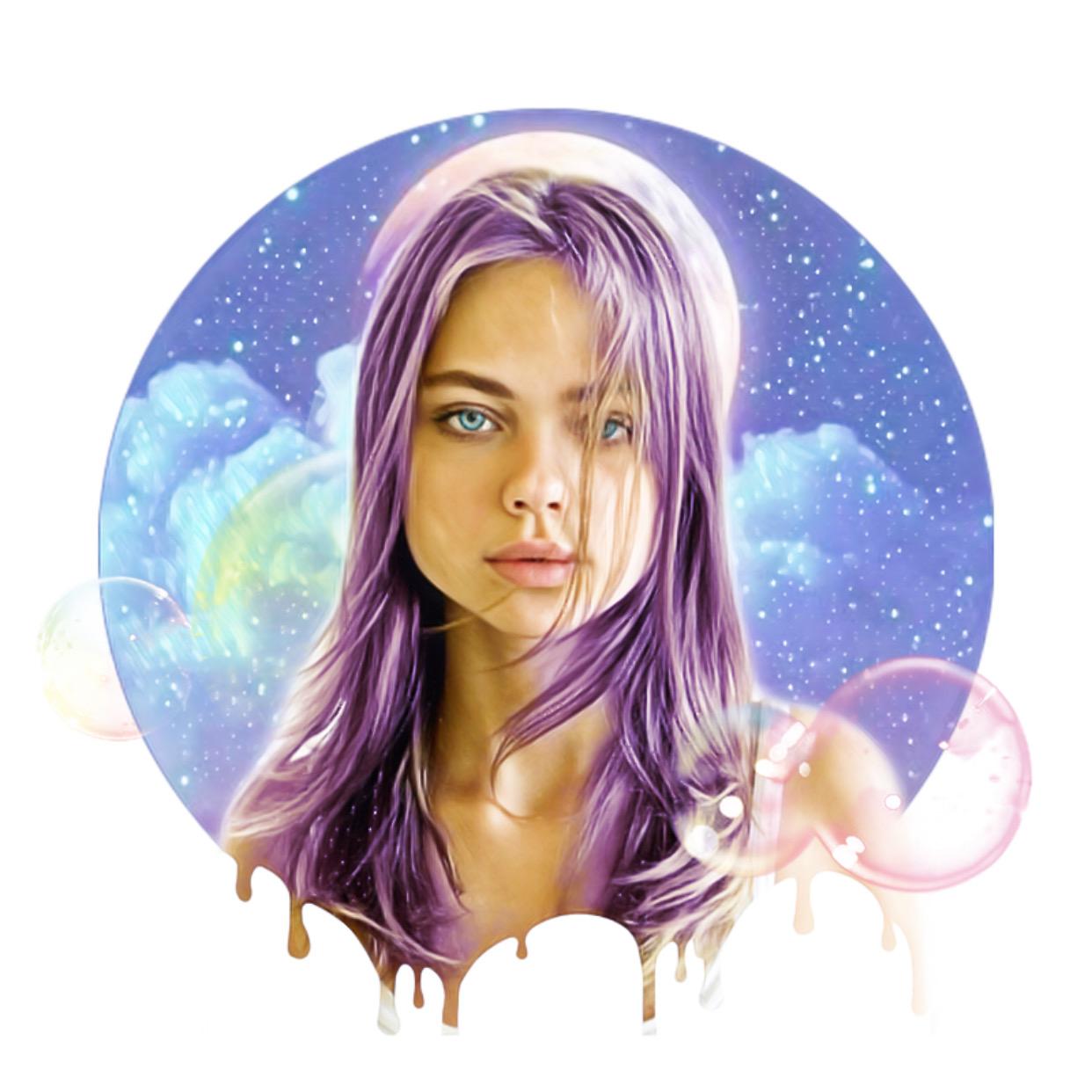 #freetoedit #домаспиксарт #аватарка #рисунок #пузыри #мыльеые пузыри #космос #мультяшка #мультик #иллюстрация #портрет