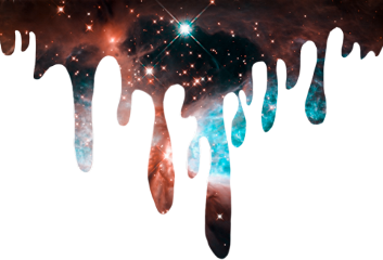 drip dripping paint outerspace galaxy freetoedit
