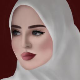 freetoedit girl draw mydrawing hijab