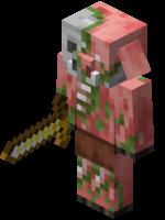 minecraft zombiepigman piglin minecraftpig freetoedit