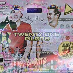 twentyonepilots twentyonepilotsedit twentyønepiløts joshdunandtylerjoseph tylerjoseph freetoedit