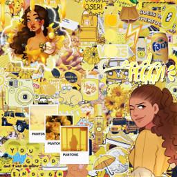 yellow peggy peggyschuyler peggyschuyleraesthetic hamilton freetoedit