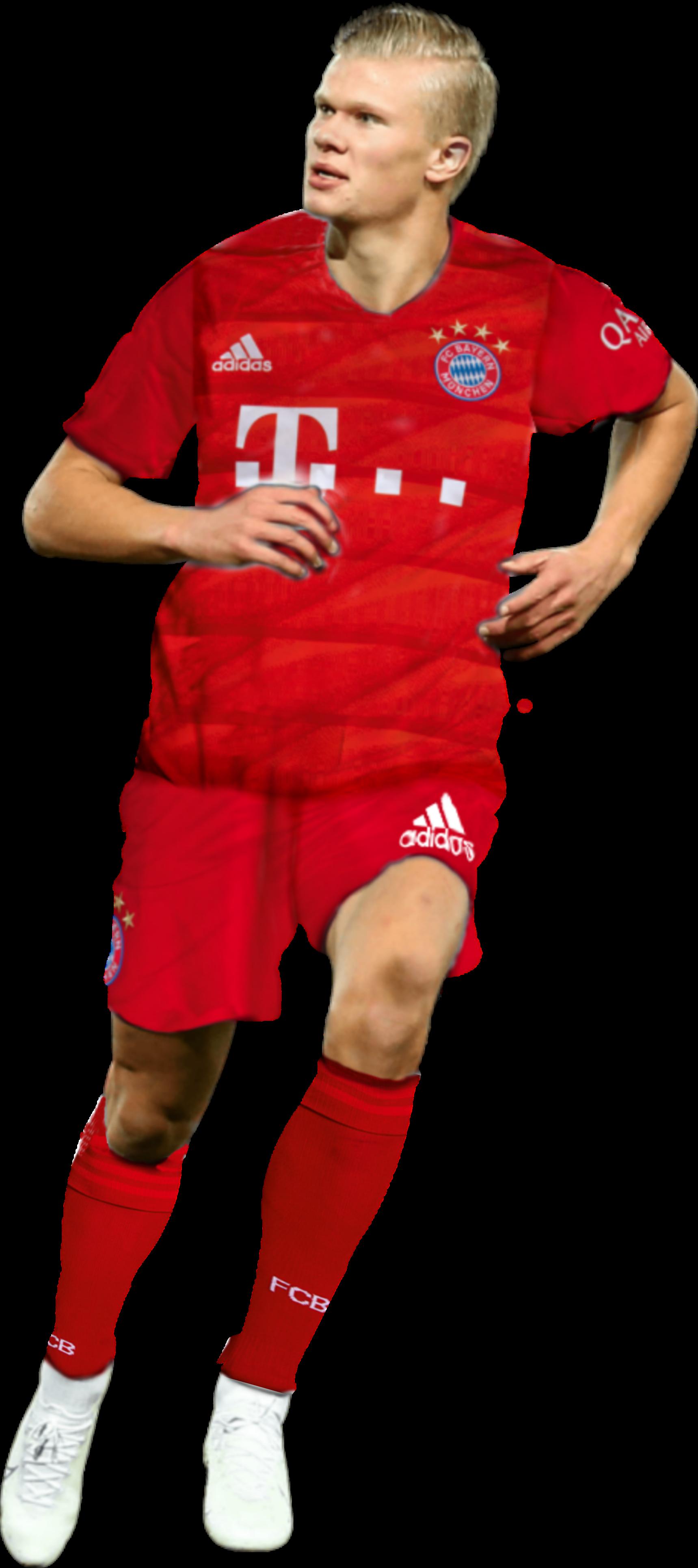 Haaland Bayern Sticker By Unknown