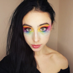 colorfulmakeup makeup jamescharles jamescharlespalette rainbow