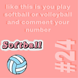 freetoedit softball volleyball repost