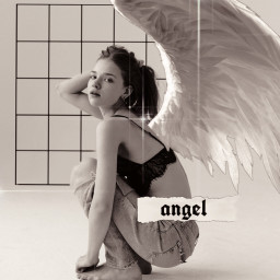 freetoedit angel aesthetictext text aesthetic