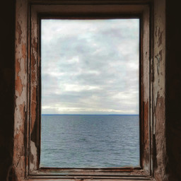 pcfrommywindow roomwithaview framedseascape urbex abandonedplaces freetoedit