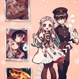freetoedit jibakushounenhanakokun hanakokun hanako-kun anime