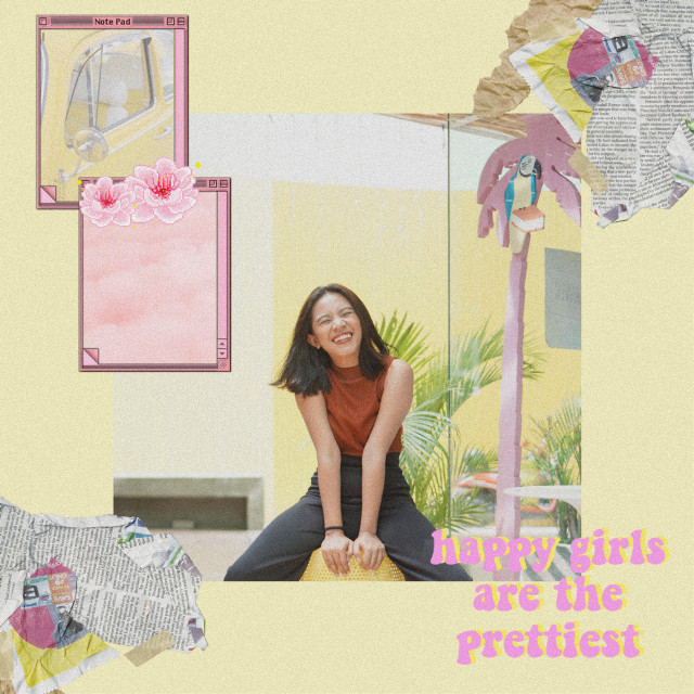#freetoedit Little pastel replay 💕 #aesthetic #aesthetics #retro #vintage #model #pretty #photography #woman #noise #happy #happiness #asian #background #note #notes #picture #pictureframe #photography #quote #aesthetic #quote #letter #letters #newspaper #newspapers #diy #computer #screen #pastel #pink #pastelcolors #pastelpink #yellow #pastel #yellow #pastelyellow