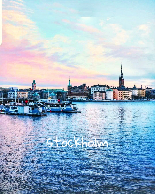 #stockholm #sea #skyline #skyandclouds #picsart #europe