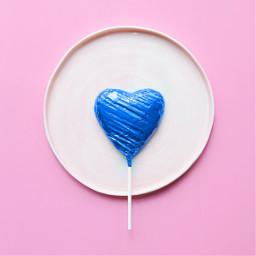 freetoedit heart blueheart pink pinkbackground